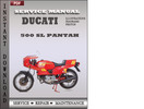 Thumbnail Ducati 500 SL Pantah Factory Service Repair Manual Download
