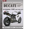 Thumbnail Ducati Superbike 848 2008 2009 2010 Factory Service Repair Manual Download