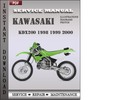 Thumbnail Kawasaki KDX200 1998 1999 2000 Factory Service Repair Manual Download
