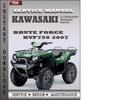 Thumbnail Kawasaki KVF750 Brute Force 2007 Factory Service Repair Manual Download