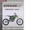 Thumbnail Kawasaki KX250F 2004 Factory Service Repair Manual Download