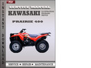 Thumbnail Kawasaki Prairie 400 Factory Service Repair Manual Download