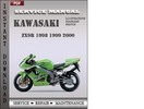 Thumbnail Kawasaki ZX9R 1998 1999 2000 Factory Service Repair Manual Download