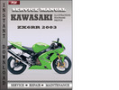 Thumbnail Kawasaki ZX6RR 2003 Factory Service Repair Manual Download
