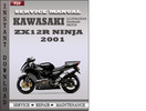 Thumbnail Kawasaki ZX12R Ninja 2001 Factory Service Repair Manual Download