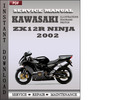 Thumbnail Kawasaki ZX12R Ninja 2002 Factory Service Repair Manual Download