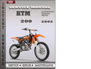 Thumbnail KTM 200 2002 Factory Service Repair Manual Download