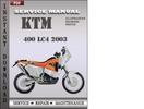 Thumbnail KTM 400 LC4 2003 Factory Service Repair Manual Download