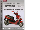 Thumbnail Kymco Bet&win B&W 50 Factory Service Repair Manual Download