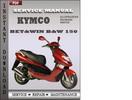 Thumbnail Kymco Bet&win B&W 150 Factory Service Repair Manual Download