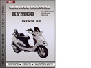 Thumbnail Kymco Dink 50 Factory Service Repair Manual Download