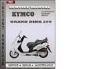 Thumbnail Kymco Grand Dink 250 Factory Service Repair Manual Download