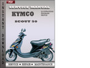 Thumbnail Kymco Scout 50 Factory Service Repair Manual Download