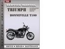 Thumbnail Triumph Bonneville T100 Factory Service Repair Manual Download