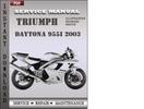 Thumbnail Triumph Daytona 955i 2003 Factory Service Repair Manual Download