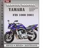 Thumbnail Yamaha FZS 1000 2001 Factory Service Repair Manual Download