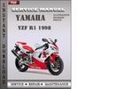 Thumbnail Yamaha YZF R1 1998 Factory Service Repair Manual Download