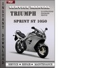 Thumbnail Triumph Sprint ST 1050 Factory Service Repair Manual Download
