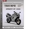 Thumbnail Triumph Sprint ST 1050 Factory Service Repair Manual Download