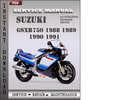 Thumbnail Suzuki Gsxr750 1988 1989 1990 1991 Factory Service Repair Manual Download