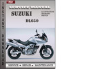 Thumbnail Suzuki DL650 Factory Service Repair Manual Download