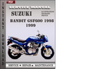 Thumbnail Suzuki Bandit GSF600 1998 1999 Factory Service Repair Manual Download
