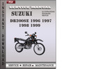 Thumbnail Suzuki DR200SE 1996 1997 1998 1999 Factory Service Repair Manual Download