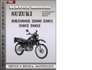 Thumbnail Suzuki DR200SE 2000 2001 2002 2003 Factory Service Repair Manual Download