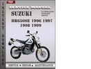 Thumbnail Suzuki DR650SE 1996 1997 1998 1999 Factory Service Repair Manual Download