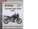 Thumbnail Suzuki DL1000 2002 2003 2004 Factory Service Repair Manual Download