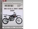 Thumbnail Suzuki DR-Z125 L 2007 2008 2009 Factory Service Repair Manual Download