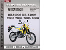 Thumbnail Suzuki DRZ400S DR Z400S 2003 2004 2005 2006 Factory Service Repair Manual Download