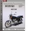 Thumbnail Suzuki GS750 Service Factory Service Repair Manual Download