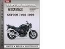 Thumbnail Suzuki GSF600 1998 1999 Factory Service Repair Manual Download