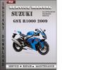 Thumbnail Suzuki GSX R1000 2009 Factory Service Repair Manual Download