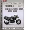 Thumbnail Suzuki GSF1200S 1996 1997 1998 1999 Factory Service Repair Manual Download