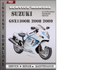 Thumbnail Suzuki GSX1300R 2008 2009 Factory Service Repair Manual Download
