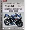 Thumbnail Suzuki GSXR750 GSX R750 2008 2009  Factory Service Repair Manual Download