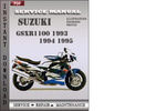 Thumbnail Suzuki GSXR1100 1993 1994 1995 Factory Service Repair Manual Download
