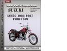 Thumbnail Suzuki LS650 1986 1987 1988 1989 Factory Service Repair Manual Download
