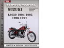 Thumbnail Suzuki LS650 1994 1995 1996 1997 Factory Service Repair Manual Download