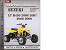 Thumbnail Suzuki LT R450 2006 2007 2008 2009 Factory Service Repair Manual Download