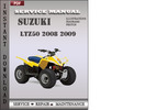 Thumbnail Suzuki LTZ50 2008 2009 Factory Service Repair Manual Download