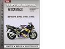 Thumbnail Suzuki RF900R 1993 1994 1995 Factory Service Repair Manual Download