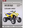Thumbnail Suzuki LTZ400 2003 Factory Service Repair Manual Download