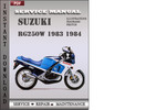 Thumbnail Suzuki RG250W 1983 1984 Factory Service Repair Manual Download