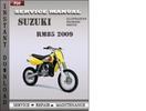 Thumbnail Suzuki RM85 2009 Factory Service Repair Manual Download