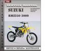 Thumbnail Suzuki RMZ250 2009 Factory Service Repair Manual Download