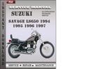 Thumbnail Suzuki Savage LS650 1994 1995 1996 1997 Factory Service Repair Manual Download