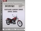 Thumbnail Suzuki Savage LS650 2002 2003 2004 Factory Service Repair Manual Download
